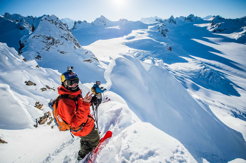 Heli Skiing Tordrillo Alaska